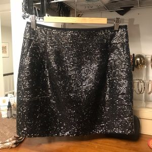 J. Crew sequin skirt - worn only once!